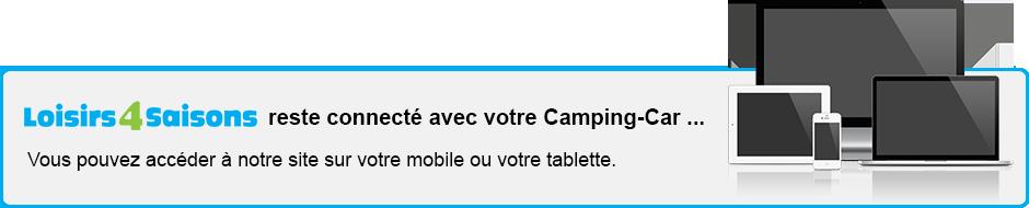 Site accessible sur mobile et tablette