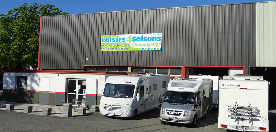 Loisirs 4 Saisons - Réparations camping-car