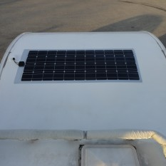 Pose panneau solaire souple