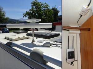 Installation antenne et réseau WIFI