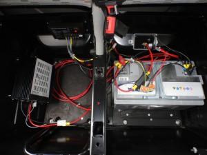 Installation électrique VW T5