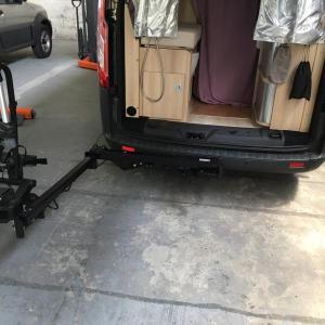 Van-Swing sur Ford Transit Custom